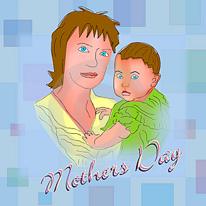 Happy Mothers Day 3 Royalty Free Stock Images - Image: 4794319