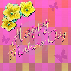 Happy Mothers Day 4 Stock Photography - Image: 4794362