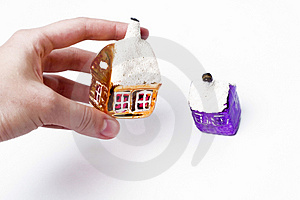 House In Hand Royalty Free Stock Photography - Image: 4796557