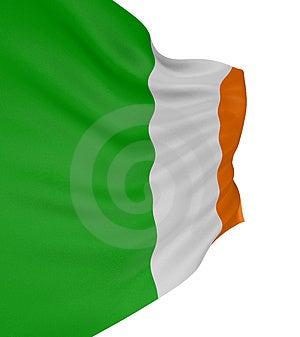 3D Irish Flag Stock Image - Image: 4798961