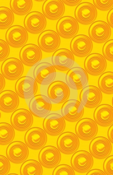 Plastic Concentric Circles Royalty Free Stock Image - Image: 480406
