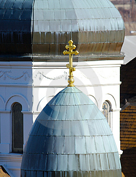 Church Domes Stock Image - Image: 481801