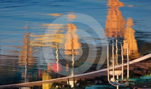 Pool Reflections Royalty Free Stock Photography - Image: 481807