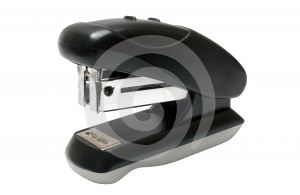 Small Brown Stapler W/ Path Stock Photography - Image: 481952