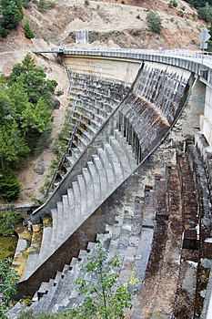 Dam Stock Photo - Image: 485880