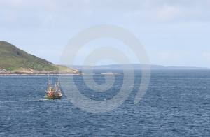 Fishing Ship Stock Photo - Image: 489570