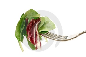 Salad Bite Stock Photography - Image: 4802382