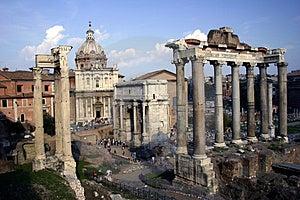 Roman Forum Stock Images - Image: 4806004