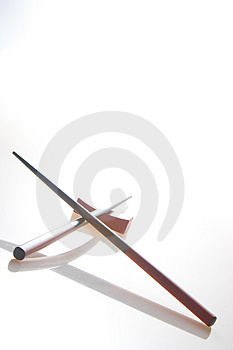 Chopsticks And Holder Stock Photos - Image: 4812043