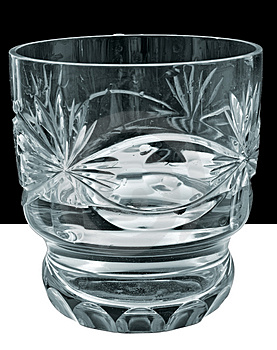 Glass With Water Royalty Free Stock Image - Image: 4821836