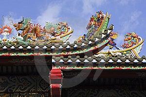 Thailand, Bangkok: Chinatown, Temple Royalty Free Stock Image - Image: 4823946