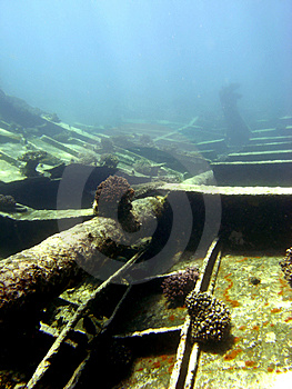 Wreck Cargo Stock Photography - Image: 4827472