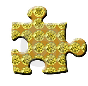Completing The Puzzle Stock Photography - Image: 4830672