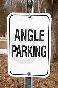 Angle Parking Royalty Free Stock Photo - Image: 4837275