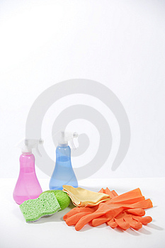 Cleaning Products Free Stock Image