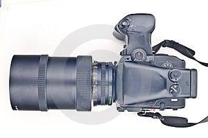 Middelgrote Formaatcamera Stock Fotografie - Afbeelding: 4845842
