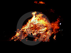 Big Fire Royalty Free Stock Photography - Image: 4846467