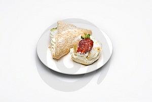 Creamy Cakes Royalty Free Stock Photos - Image: 4851138