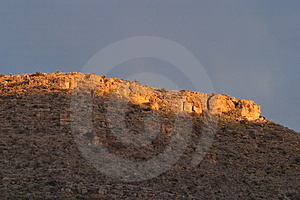 Plateau Sunrise Stock Images - Image: 4852614