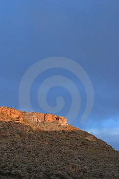 Plateau Sunrise Royalty Free Stock Images - Image: 4852619