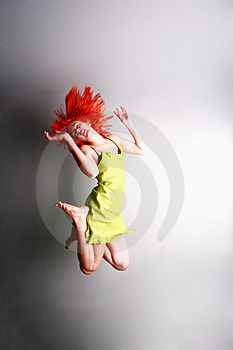 Jump For Joy..... Stock Photos - Image: 4852703