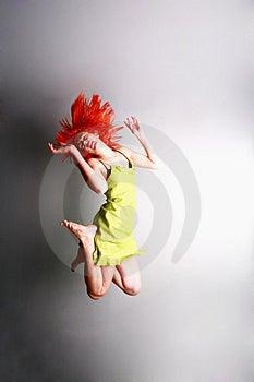 Skok Dla Radości ..... Zdjęcia Stock - Obraz: 4852703