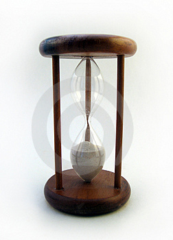 Hourglass Royalty Free Stock Images - Image: 4854549