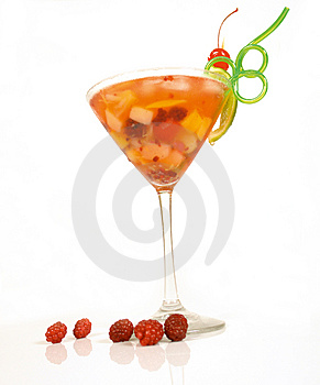 Berry Cocktail Royalty Free Stock Image - Image: 4859676