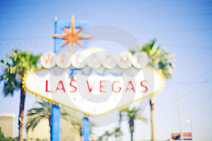 Vegas sign Royalty Free Stock Photos
