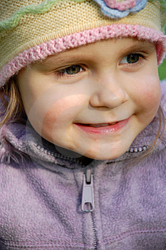 Smiling Little Girl Royalty Free Stock Photos - Image: 4863288