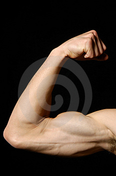 A man body Stock Image