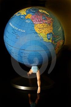Globe  Stock Photography - Image: 4878512