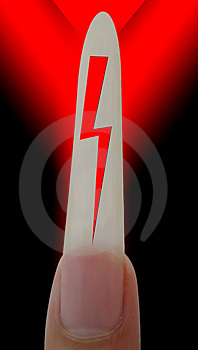 Electric Shock Royalty Free Stock Images - Image: 4878799