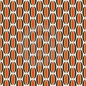 Orange And Brown Retro Pattern Stock Photos - Image: 4881593