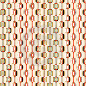 Orange And Brown Retro Pattern Royalty Free Stock Image - Image: 4881596