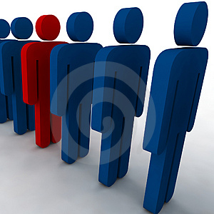 3d people Royalty Free Stock Images