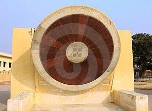 India Jaipur Jaipur Observatory Sundial Stock Images - Image: 4886364