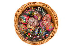 Easter Eggs Royalty Free Stock Photos - Image: 4888348