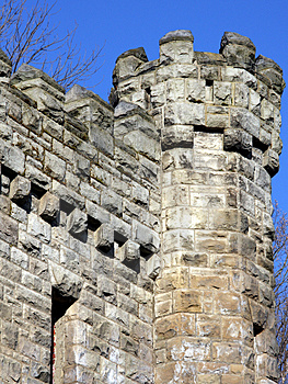 Stone Castle Tower Stock Images - Image: 4892284