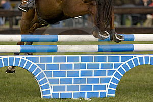 Horse Jumping 036 Royalty Free Stock Photography - Image: 4894957