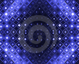 Abstract Blue Lights Stock Photography - Image: 4899862