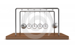Collision Balls 1 Stock Images