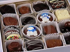 Box Of Chocolates Stock Photos - Image: 499813