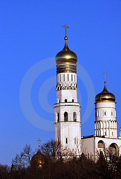 Moscow Church Royalty Free Stock Photos - Image: 4900238