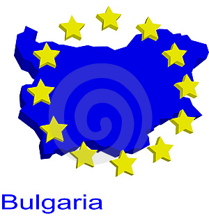Bulgaria Contour Stock Photo - Image: 4904310