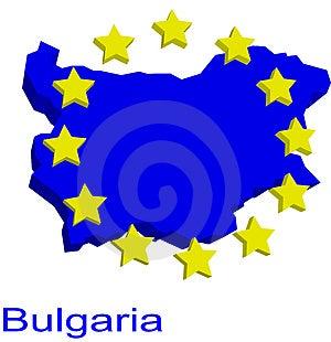 Bulgaria Contour Stock Photo - Image: 4904310
