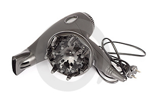 Hair Drier Royalty Free Stock Images - Image: 4905769