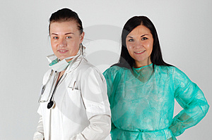 Female Doctors Royalty Free Stock Images - Image: 4907259