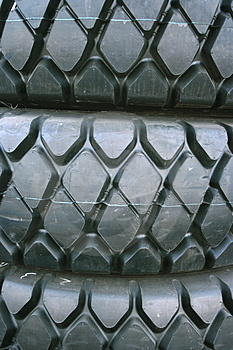 Rubber Tires Royalty Free Stock Images - Image: 4910779