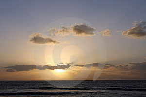 Sunset In Maui Stock Image - Image: 4914251